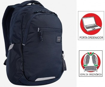 Mochila TOTTO commuter Pc. y tablet Missisipi 1820F-Z04 Azul