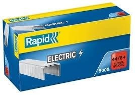 Grapas RAPID Electric 44 / 8+ mm.  Galvanizada super strong 5000 grapas