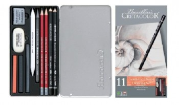 Estuche dibujo CRETACOLOR teacher s beginner set 11 piezas