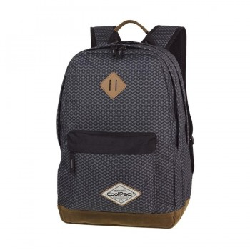 Mochila COOLPACK Scout Dark Grey Net A122 Porta Pc.
