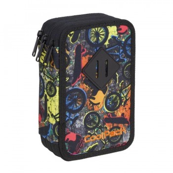 Plumier COOLPACK triple Free Style A434 con contenido