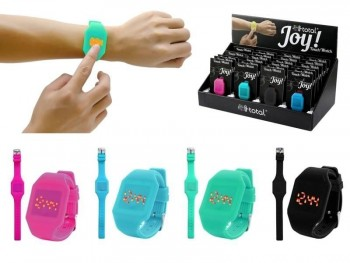 Reloj I-TOTAL material Touch Display LED con pulsometro
