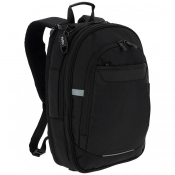 Mochila TOTTO commuter Pc. y tablet Synergic negro