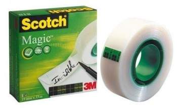 Cinta adhesiva SCOTCH Invisible magic 33m.x19mm.