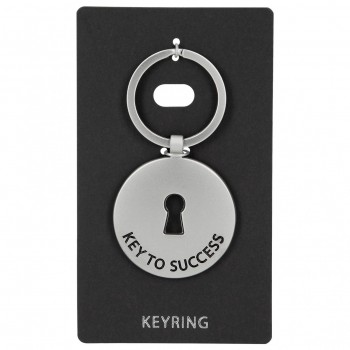 Llavero Metal KEYRING redondo Key To Success
