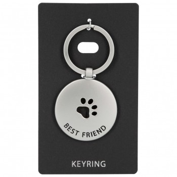 Llavero Metal KEYRING redondo Best Friend