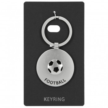 Llavero Metal KEYRING redondo Football