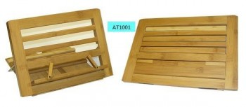 Atril madera plegable 34 x 24 x 2,5 cm.