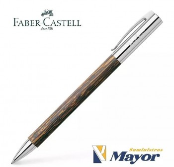 Bolígrafo FABER CASTELL Ambition Madera Coco