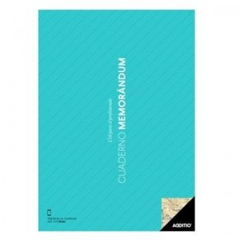 Cuaderno profesor ADDITIO A4 Memorandum
