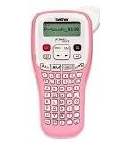 Maquina rotular BROTHER P-Touch PTH-100P rosa