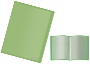 Carpeta 40 fundas DOHE flexible translucida verde