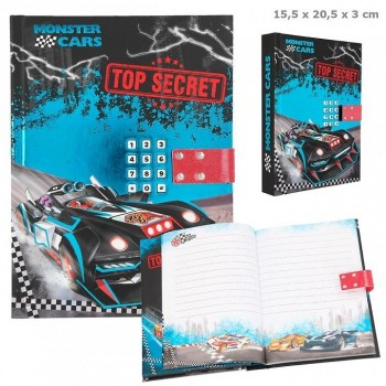 MONSTER CARS Diario codigo secreto