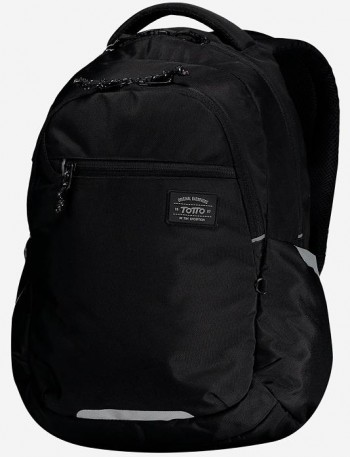 Mochila TOTTO commuter Pc. y tablet Missisipi 1920F-N01 negro