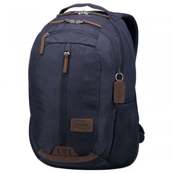 Mochila TOTTO Universitario Clever Compliment 1720G-Z32 porta pc. Azul