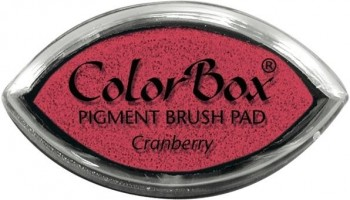 Tampon COLORBOX tinta al agua Cat s eye Secado normal Rojo Chamberry