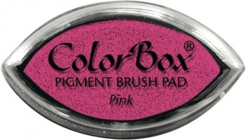 Tampon COLORBOX tinta al agua Cat s eye Secado normal Rosa