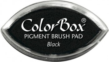 Tampon COLORBOX tinta al agua Cat s eye Secado normal Negro