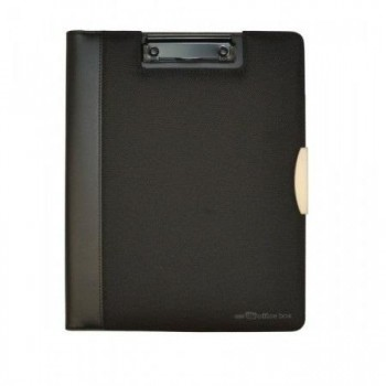 Portadocumentos OFFICE BOX dynamic Black Label A4 con pinza negro