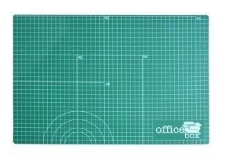 Plancha de corte A3 OFFICE BOX 450 x 300 x 3 mm. Verde