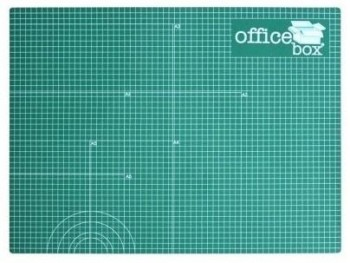 Plancha de corte A1 OFFICE BOX 900 x 600 x 2 mm. Verde