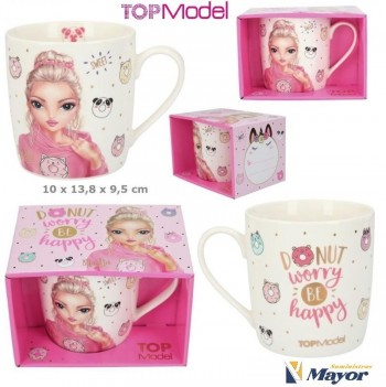 TOP MODEL Taza Candy Cake