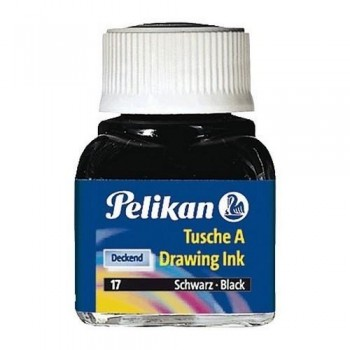 Tinta china PELIKAN frasco 523 10 ml.