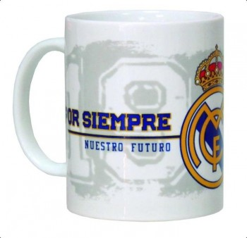 Taza REAL MADRID ceramica 300 ml.