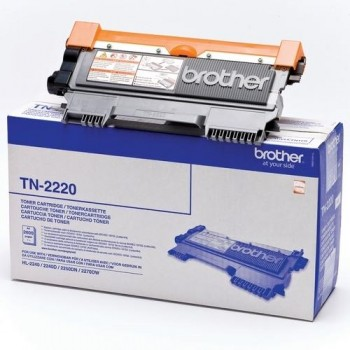 Brother Tóner laser TN2220 negro (2.600 pág.)