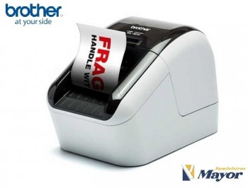 Impresora etiquetas BROTHER Termica Bicolor QL-800 Red USB 2,0 ancho 62 mm.