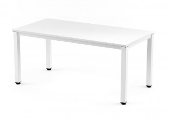 Mesa Oficina ROCADA  Executive estrucrura metal Blanco Tablero Blanco