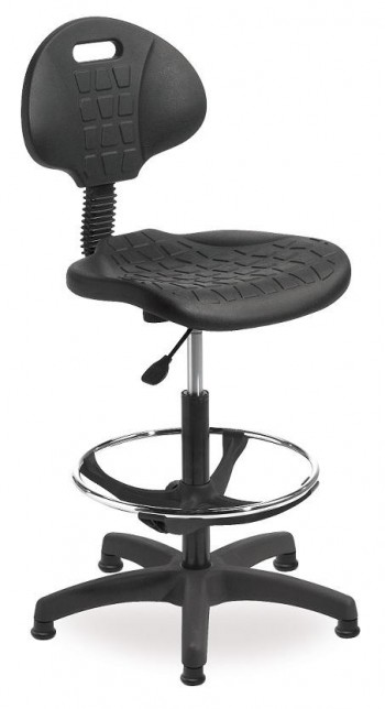 Taburete ROCADA regulable a gas RD-925 asiento y base polipropileno