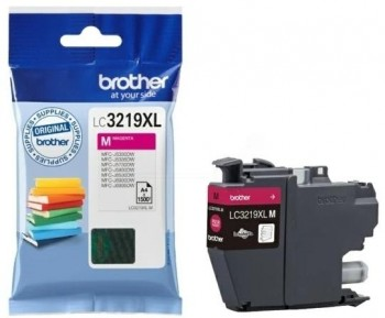 BROTHER inkjet LC3219XLM magenta 3000 páginas.