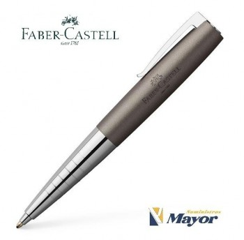 Boligrafo FABER-CASTELL loom metalic Gris
