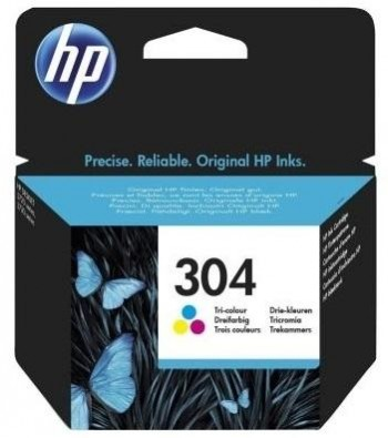 HP Inkjet nº 304 N9K05AE ( 100 pág) Color