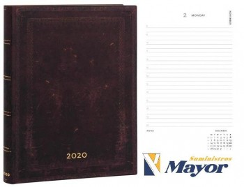 Agenda anual PAPERBLANKS Ultra 180x230 mm. Dia pagina Flexi horizontal 2020 Marruecos