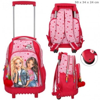 TOP MODEL mochila Troley escolar Cherry Bomb