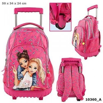 TOP MODEL mochila troley escolar Rosa Fucsia Fergi & Candy