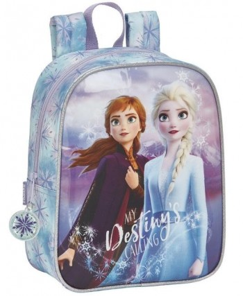 Mochila FROZEN Guarderia 27 x 22 x 10 cm. Adaptable a carro