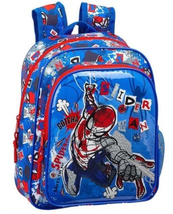 Mochila SPIDERMAN Perspective Infantil 34 x 28 x 10 cm. Adaptable a carro