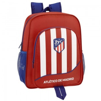 Mochila ATLETICO DE MADRID adaptable a carro Junior 38 x 32 x 12 cm.