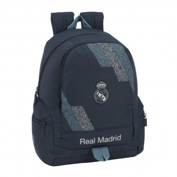 Mochila REAL MADRID adaptable 32 x 17 x 43 cm. Gris oscuro