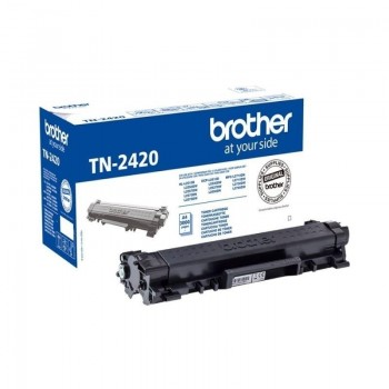 Brother Tóner láser TN2420 negro 3.000 copias