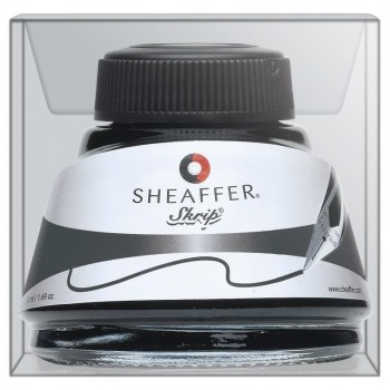Tintero Estilografoca SHEAFFER bote 53 ml. tinta color negro