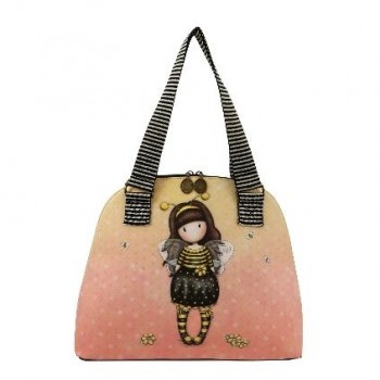 "Bolso GORJUSS con cremallera "" Bee Loved \"""