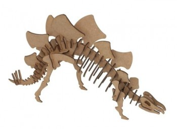 Maqueta 3D WOOD MODELS pocket Stegosaurus