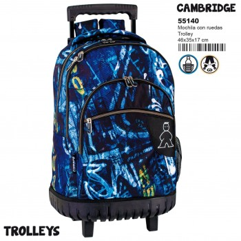 Mochila carro PERONA troley Campro Cambridge