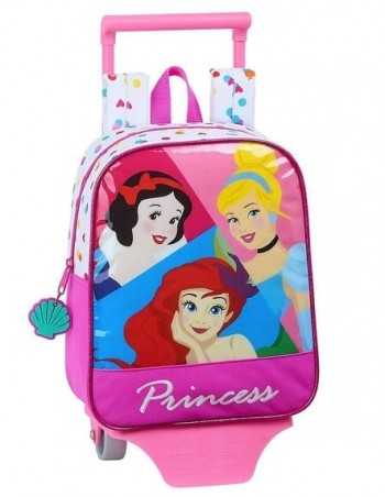 Mochila DISNEY PRINCESS Troley Guarderia 28 x 22 x 10 cm. Be Bright