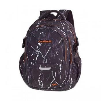 Mochila COOLPACK adaptable duo black marble