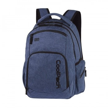 Mochila COOLPACK break silver snow blue A321 porta PC